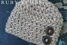 Hats:  Baby, Toddler, Child / by Neva Greenwood