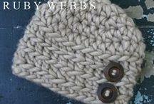 Hats:  Baby, Toddler, Child / by Neva Greenwood