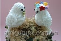 crochet birds