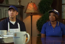 "Be the Boss / Auntie Anne's was featured in the premiere season of A&E's new original real life series ""Be the Boss."" In the show, two employees of a franchised company competed for the chance at a corporate promotion. It's a big surprise when both employees are given a piece of the American Dream in the end. Auntie Anne's ""Be the Boss"" episode aired Sunday, December 16, 2012. It's an unforgettable hour of television about courage, working hard, staying positive and of course... pretzels!  / by Auntie Anne's Pretzels"