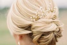 Wedding Hair / Your hair is a vital part of your whole bridal look. Whether you're going for an updo or a half up half down style, we have plenty of ideas for you.