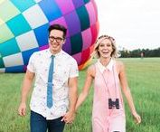 Engagement Photo Ideas / Fun and unique ideas to inspire your own engagement photo shoot. Oh, and congratulations!