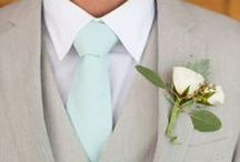 Groom & Groomsmen / Style, photography, and fun - inspiration for a groom and his groomsmen.