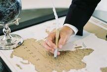 Wedding Guest Book Ideas / Fun and fresh ideas for wedding guest books.