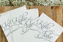 Wedding Invitations + Save-the-Dates / Wedding invitations your guests will adore.