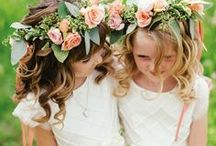 """Flower Girls & Ring Bearers / Start your wedding with an """"awwww"""" moment with adorable flower girls and ring bearers."""