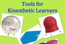 Kinesthetic Learners / This Pinterest Kinesthetic Learners board offers teachers, learning specialists and educational therapists blogs and articles on kinesthetic learners.  In addition it offers advice and links to multisensory teaching and remedial instruction that serves active learners as well as information on free and paid multisensory, fun, and engaging products that accommodate kinesthetic learners.