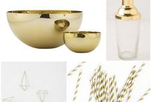Golden Interiors and Decor / I am totally obsessed with gold decor... My hearts latest swoon;)