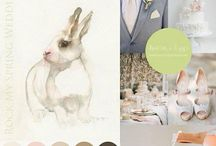 Spring Wedding Inspiration / Inspiration board for Rock My Spring Wedding inspiration / by Andrea Pittam at Kiss the Frog x