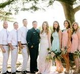Spring Wedding Inspiration / Brights and pastels set the stage for a beautiful spring wedding.