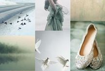 Wedding Inspiration Boards / Colour inspiration boards for weddings / by Andrea Pittam at Kiss the Frog x