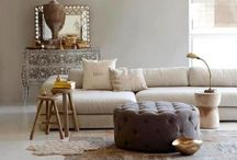 Interior Design  - Winter colours living room / Mood board for living room inspired by the subtle colours of Winter. / by Andrea Pittam at Kiss the Frog x
