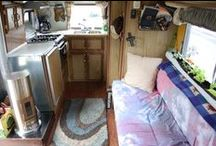 HOME - campers and tiny houses / ...small spaces... / by Becca Kae