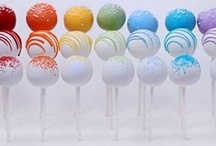 Food - Cake Pops / too cute to eat!  Cake Pops.