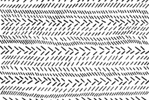 Pattern Play / inspirational pattern design in fabric, paper, art, illustration, texture
