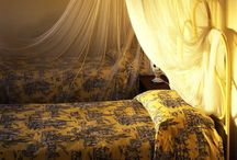 Bedrooms of Italy - Tuscany - great inspirations / Great bedrooms throughout Italy - love the fabrics and styles / by ClassicVacationRental.com