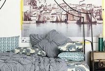 for the den/dorm / decorations for campus apartments; clever household tips and tricks