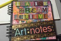 Crafts - Art Journaling / Mixed media mayham - inspiration for creativity.   #Altered Art  #MixedMedia #artjournaling