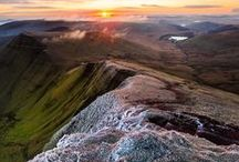 Brecon Beacons Freedom! / Fresh air, open spaces, mountains high- run free!