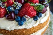 Cakes, cupcakes, tarts