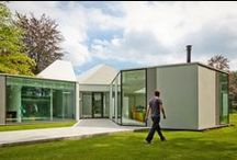 Villa 4.0 / Size: 542 m2 Status: Completed 2010 - 2011  Address: Hilversum, the Netherlands Client: Private Design Team: Dick van Gameren, IDing, Michael van Gessel Programme: Fourth time renovation of an originally 1967 villa. Awards: BNA Project of 2012 / by mecanoo