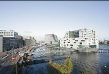 Masterplan IJDock (Amsterdam, the Netherlands) / Size: 89,000 m2 Status: Completed 1997 - 2012  Address: IJDock, Amsterdam, the Netherlands Client: Gemeente Amsterdam, Rijksgebouwendienst Design Team: Dick van Gameren, Bjarne Mastenbroek  / by mecanoo