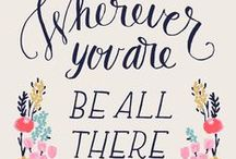 Top Quote Pins / by Rachel Follett (Lovely Clusters)