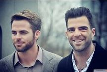 Chris and Zach / Chris Pine and Zachary Quinto / by Deanna Kimble