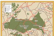 Brecon Cottages Exclusive Map / We have an exclusive map, which shows our favourite places in the area, and gives discounts just for our customers, but shhhh it's secret!