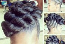 Braids and Natural Hairstyles