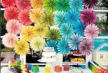Rainbow Party Ideas / by Nikki Warden
