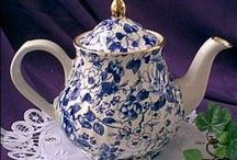 Tea Party/Tea Cups/Tea Pots / by Pam Feather-Estrada