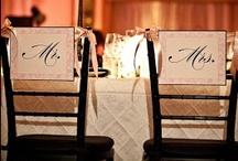 Reception {Chair Signs}