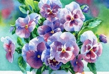 Pansies / by Pam Feather-Estrada