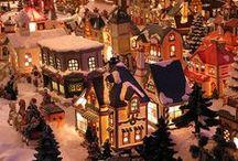 Christmas - Santa Village / by Judy Potts