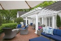 Outdoor Living Spaces / Outdoor kitchens, patios, decks, fireplaces, decorating ideas and other incredible outdoor living spaces created to bring your home outdoors.