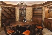 Wine Cellars / Wine cellars and wine rooms perfect for the wine connoisseur.