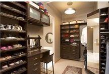Closets / Amazing closets, closet organization ideas and solutions.