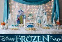 Frozen Birthday Ideas / by Nikki Warden