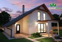 Projekt TD2-1 - Scandi Haus SK / Útulný dvojposchodový rodinný dom vo výmere 140.79 m2 úžitkovej plochy s dvoma terasami a garážou pre Váš automobil. Mesačné náklady na bývanie v tomto dome sú do 130 €. Realizácia projektu domu na kľúč do 3 mesiacov. Naše projekty spĺňajú energetický certifikát triedy A. Čo naň poviete? Cena: 80 800 € (s DPH) Our projects meet the energy certification of Class A. Implementation of the project house key in three months. Monthly fee for energies 80 €. Price 112 632 € (with VAT)