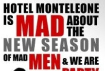 Inspired by Mad Men  / by Hotel Monteleone