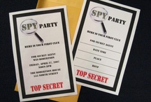 Spy Birthday Party ~Top Secret / by Tiffany Alba