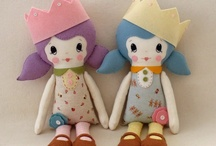 Free Soft Doll Patterns / by Quirky Artist Loft