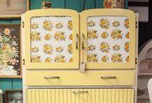 Vintage Kitchen Dressers Cabinets
