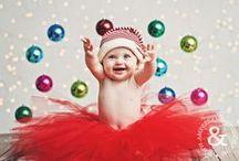 Fotos bebé Navidad / Fotos de bebés en Navidad / by Nani de Preparando la llegada del bebé