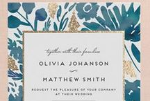 Stationery / Printed Materials | Invitations | Save the Date | Escort Cards | Table Numbers