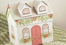 Printable Paper Houses / by Quirky Artist Loft