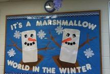 Bulletin Boards - Winter & Christmas / by Lori Zitzelberger