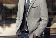 MEN + STYLE / A stylish man is a sexy man. Men's fashion I hope my future husband will adopt.