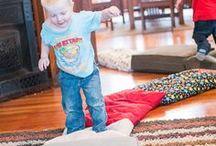 Kids Indoor Activities & Games / Kids Indoor Activities, Games, and Crafts for rainy days, snow days, etc.
